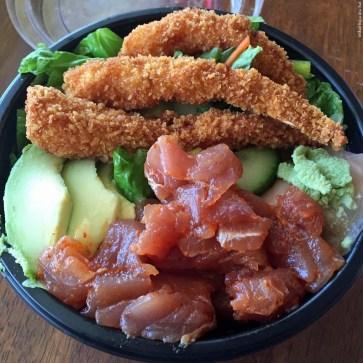 Rice Bowl with Ahi at Kawaihae Kitchen - Kawaihae, HI