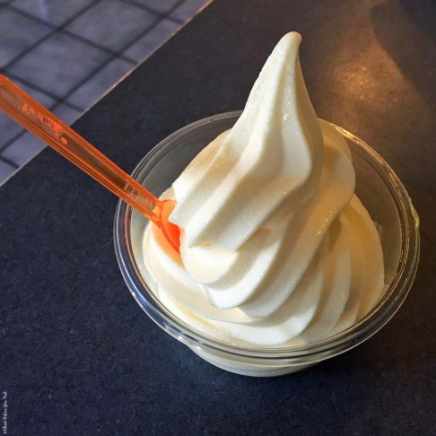 Dole Pineapple Whip at Kohala Burger and Taco - Kawaihae, HI