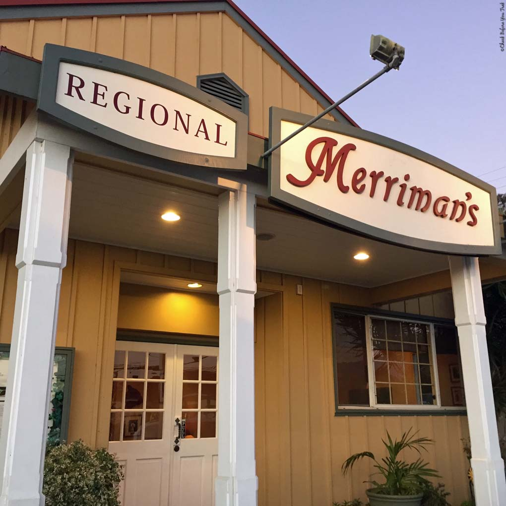 Front entrance to Merriman's - Waimea, HI