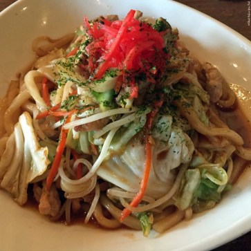 Yaki Udon at Monstera Noodles and Sushi - Kohala Coast, HI