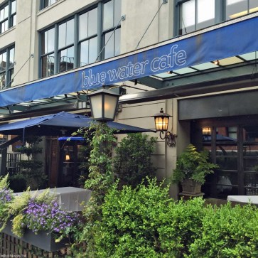 Front of Blue Water Cafe in Yaletown - Vancouver, British Columbia, Canada