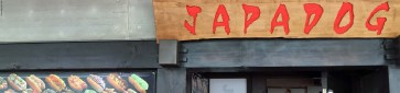 Front of Japadog store - Vancouver, British Columbia, Canada