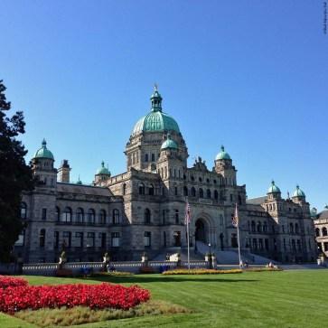 BC Legislature - Victoria, British Columbia, Canada
