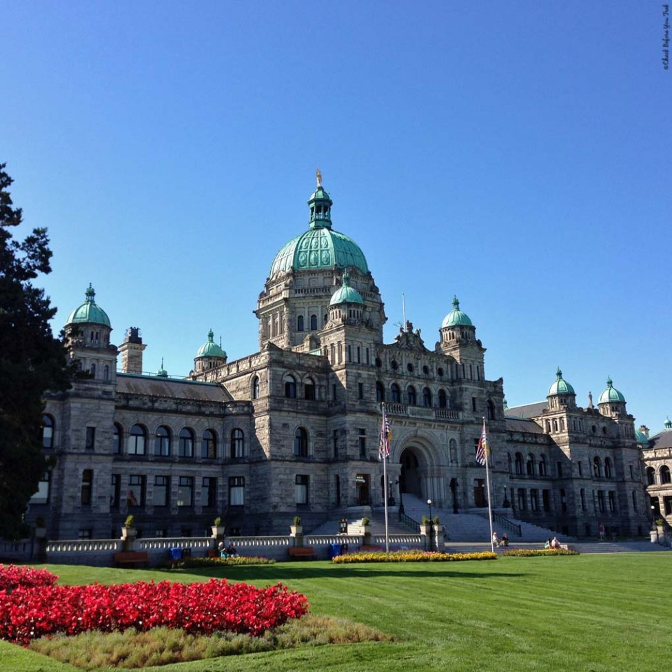 BC Legislature - Victoria, British Columbia, Canada