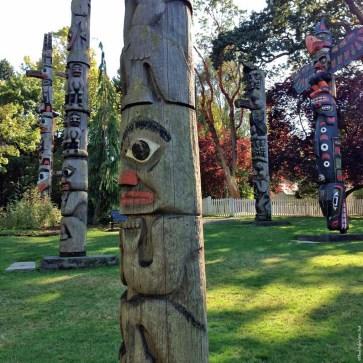 Victoria Totem Poles - Victoria, British Columbia, Canada