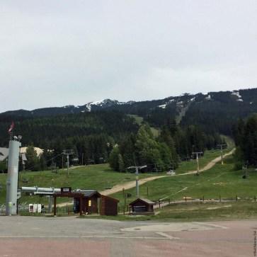 Ski lifts at Whistler Village - Whistler, British Columbia, Canada