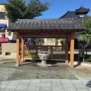 Hot spring drinking water - Kinosaki, Japan