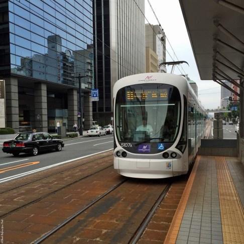 Hiroshima Streetcar - Hiroshima, Japan
