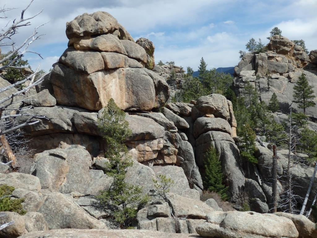Lumpy Ridge Trail And Bear Lake: Estes Park, Apr 25-27