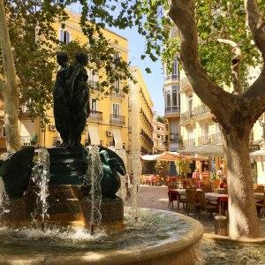 Plaza Rodrigo Botet, Valencia, Spain