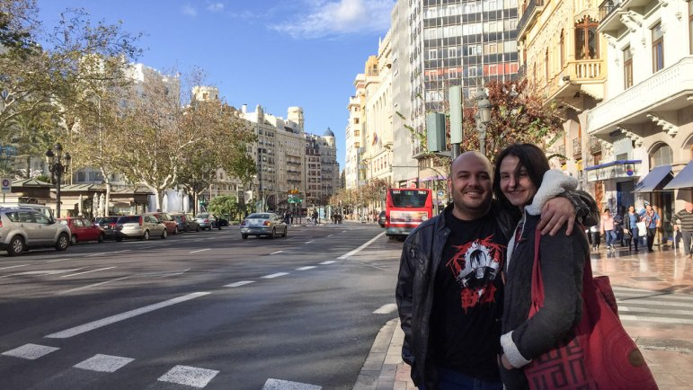 Daniel and Andrea - Valencianos with big hearts