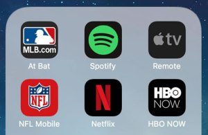 iOS apps for streaming media