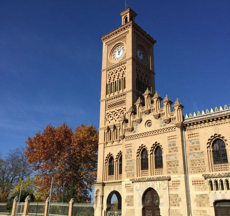 Toledo Spain train station