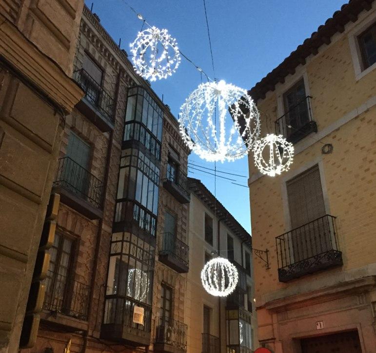 streets of Toledo Spain in December