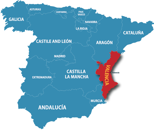 Map Of Spain Valencia Region.About Checked Into Life From The Silicon Valley To A Sabbatical In