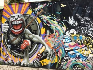 Os grafites espalhados pelo Beco do Batman fizeram o local ser um dos pontos turísticos mais fotografados de São Paulo