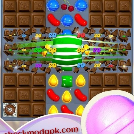 Chocolate Candy Crush saga mod APK