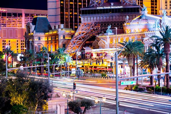 Las Vegas Strip Long Exposure