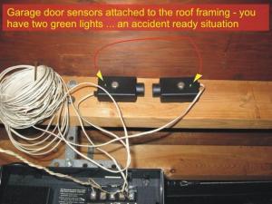 Garage Door Sensors | Overhead Door Opener Sensor