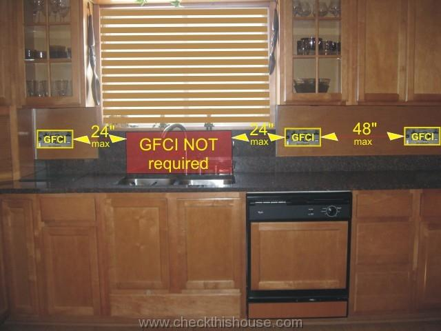 Kitchen GFCI Receptacle And Other Electrical Requirements CheckThisHouse