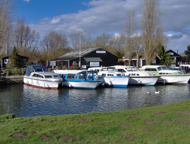 Boatyards on the River Chet