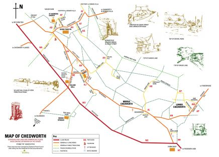 Chedworth Map