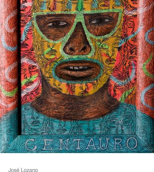 Jose Lozano, Centauro from Cheech Marin's hispanic art collection