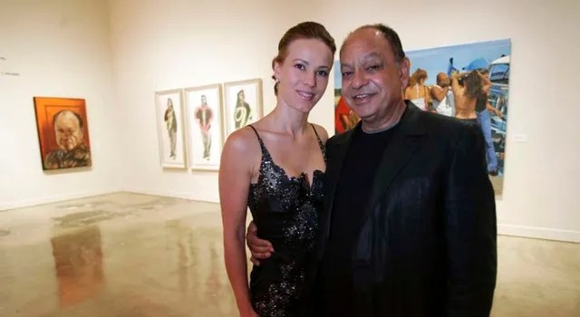 Natasha and Cheech Marin