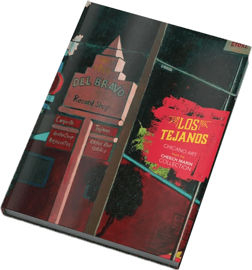 Los Tejanos Art Book featuring chicano art from Cheech Marin collection