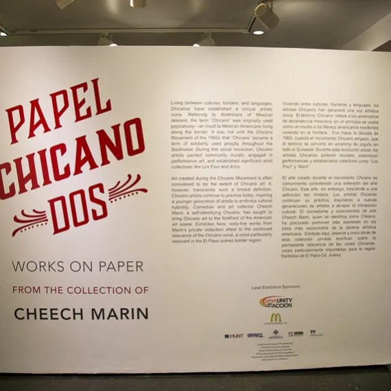 Papel Chicano Dos from Cheech Marin's latin art collection