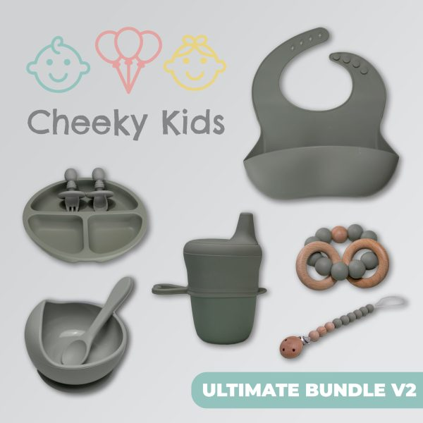 Sage Bundle Feeding set with Cup & Non-Spill Sippy Cup