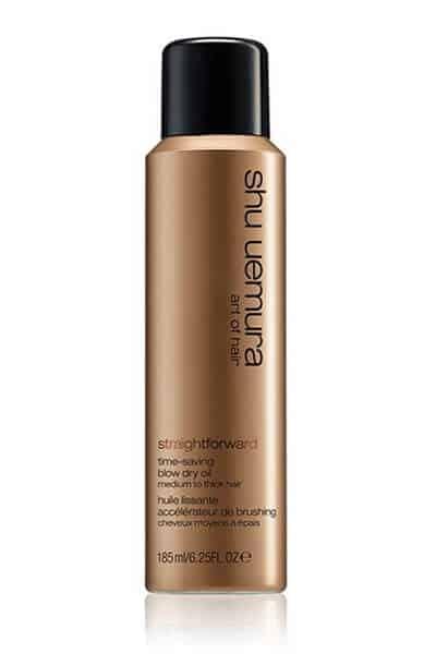 Straightforward Blow Dry Oil Spray for Thick Hair by Shu Uemura Art of Hair | 185ml