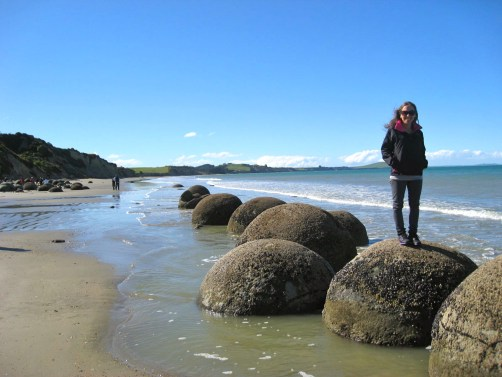 Moeraki Boulders, Oamaru, New Zealand
