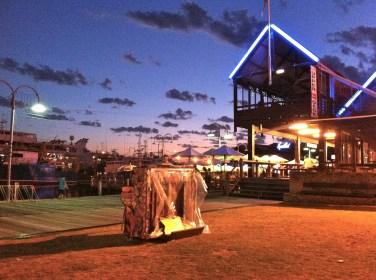 Sunset in Fremantle Perth Australia