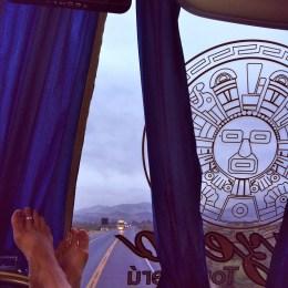 Overnight Bus, Lima - Mancora, Peru
