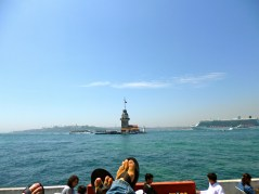 On the Asian side, looking at Europe. Istanbul, Turkey
