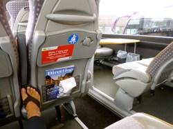Spacious & clean Baltic bus