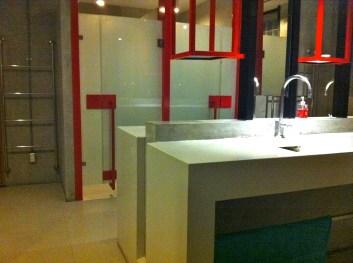 Hostel bathroom, Bangkok
