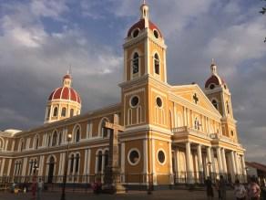 Granada Nicaragua iconic Cathedral de Granada
