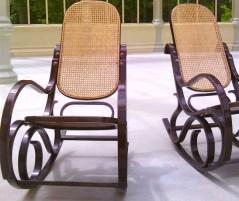 classic Nicaraguan rocking chairs in Granada NIcaragua