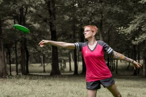 Jennie Costa_PDGA # 3142 Disc Golf Amateurs 50+ World Champion