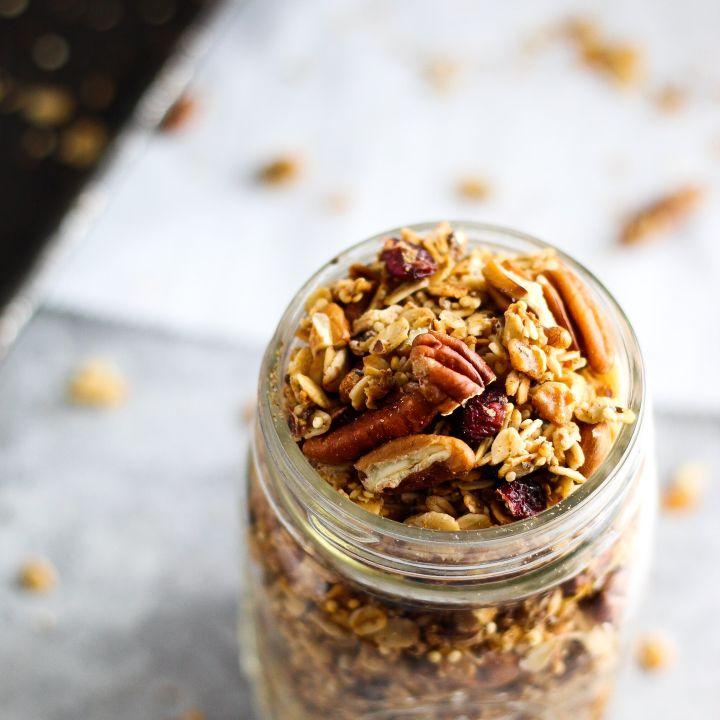 Quinoa Crunch Granola