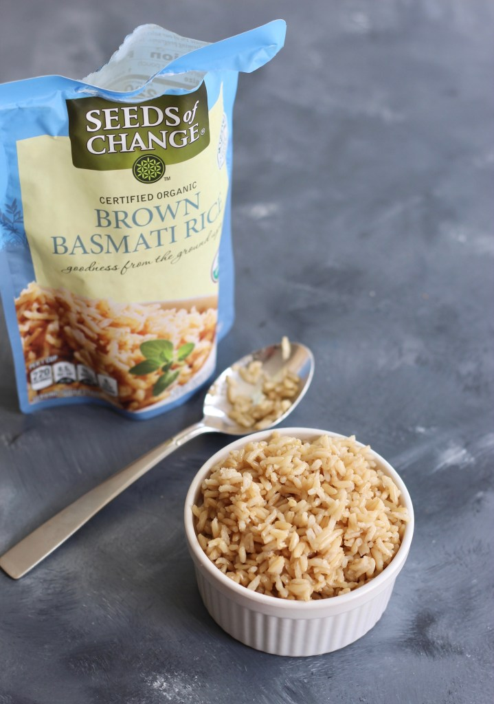 #ad Incorporate seasonal ingredients, crispy tofu, and quick-cooked brown rice into this super easy Thai Peanut Tofu Buddha Bowl to throw together for your next meal. @SeedsOfChange Brown Basmati Rice is convenient without sacrificing taste, quality, or nutrition. #BeASeedOfChange