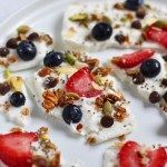 Protein Packed Low Sugar Yogurt Bark