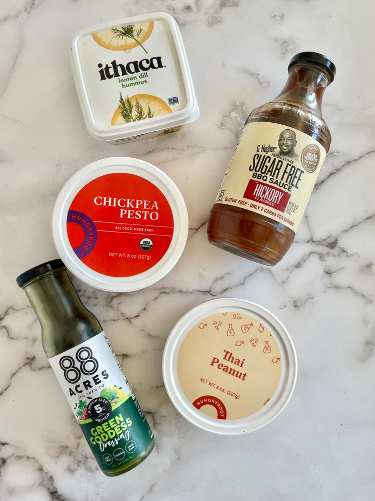 Sauces, dips, and dressings