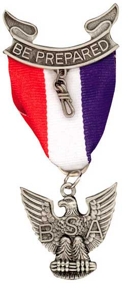 Medal Honor Eagle Scout Logo