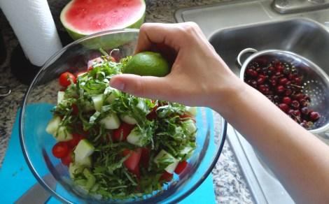 Watermelon Salad4