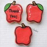 Small Apple Cookies