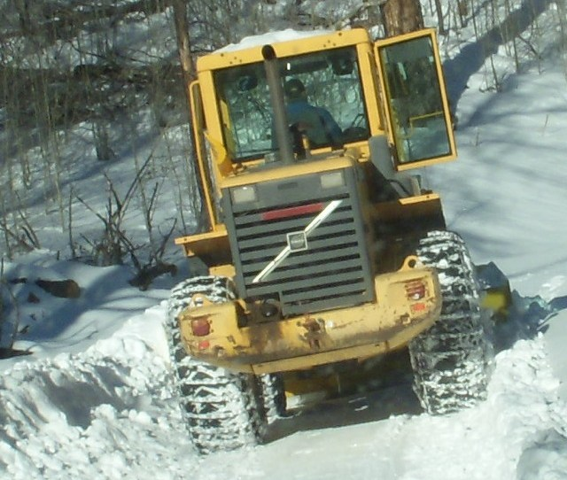 The Clearance Of Kriss Plow Is About Two Feet A Lot Higher Than The Clearance Of Andys Jeep The Diameter Of Kriss Tires Are About 5 E2 80 B2 And The Snow On