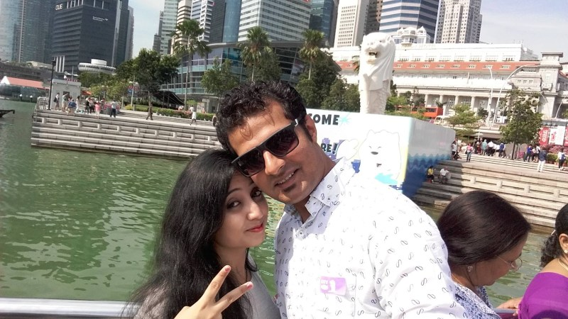 The Merlion Statue Marina Bay Sands